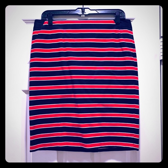The Limited Dresses & Skirts - The Limited NWOT Red White Blue Pencil Skirt
